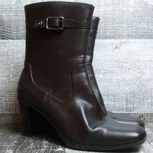 Tommy Hilfiger Rosabella Dark Brown Boots Sz 9 M